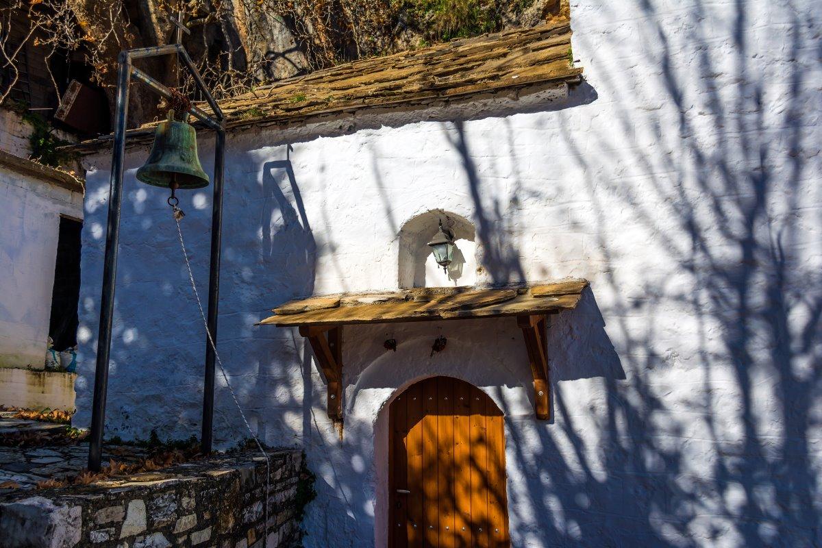 Πραστός Αρκαδίας, εγκαταλελειμμένο εκκλησάκι