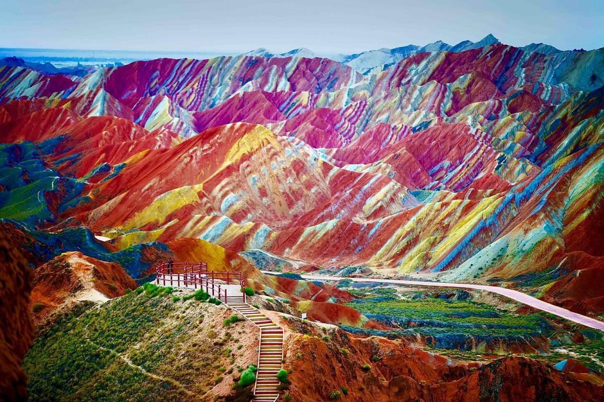 Βουνά χρωμάτων, Κίνα