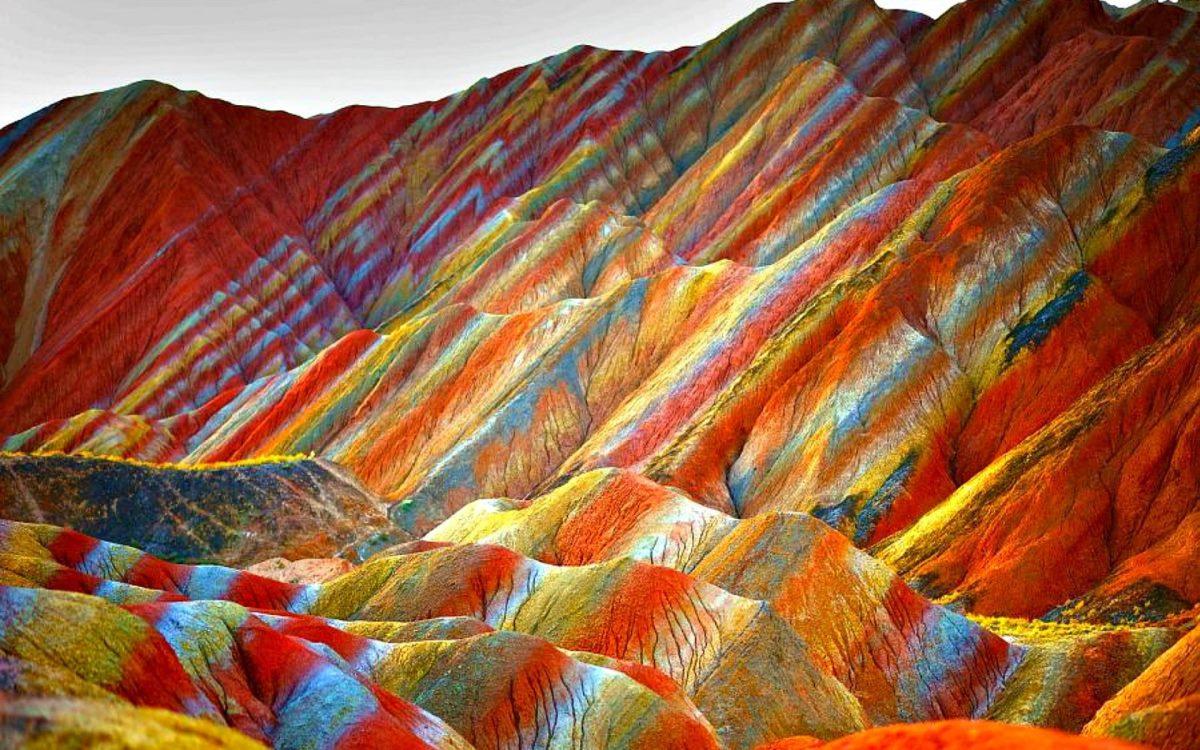 Rainbow Mountain, Κίνα