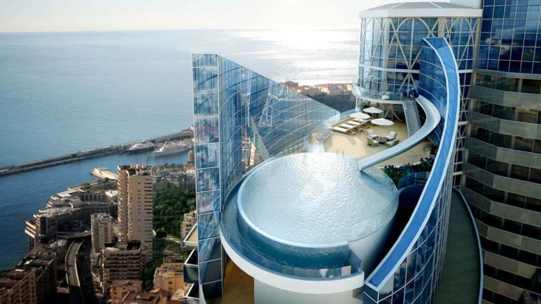 Luxurious ρετιρέ Μονακό πισίνα