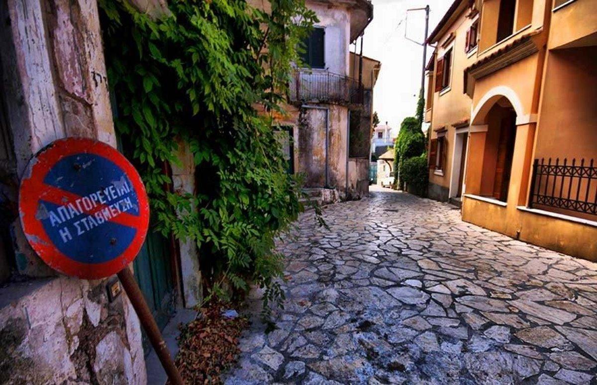 Κέρκυρα όμορφα ορεινά χωριά Σωκράκι στενά σοκάκια