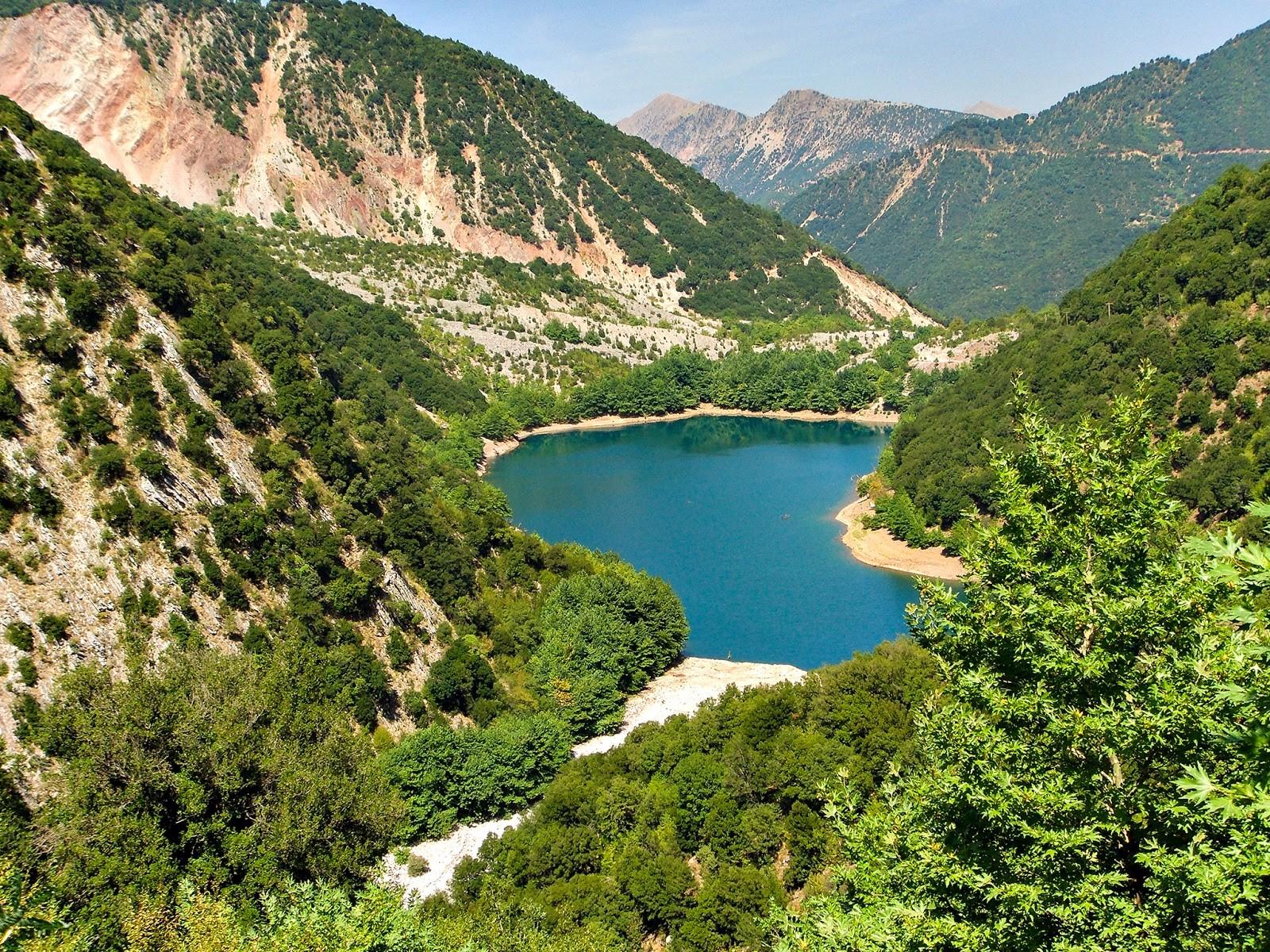 Λίμνη Στεφανιάδα Καρδίτσα κοντινό