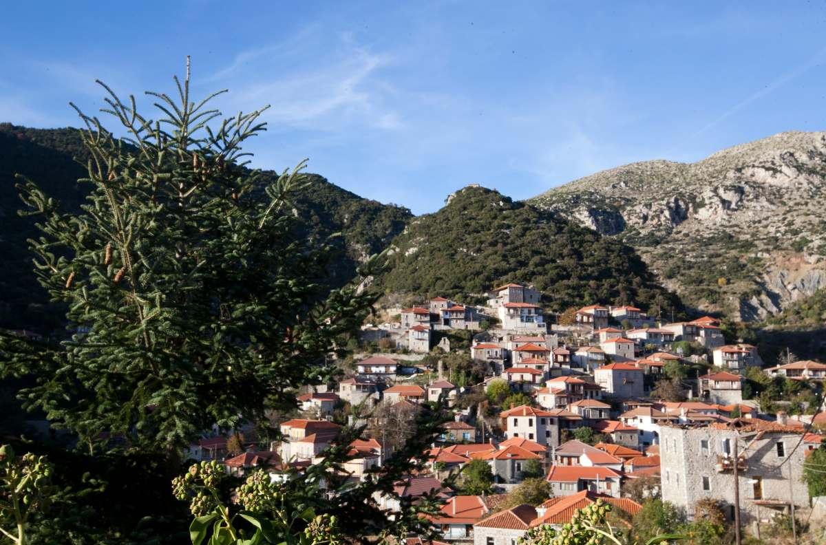 Στεμνίτσα, πανοραμική εικόνα