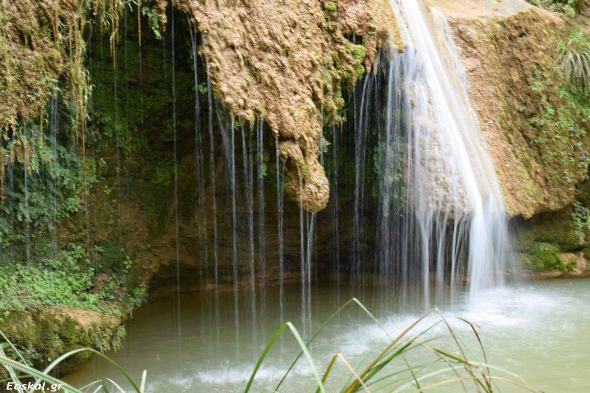 Στενωσιά Μεσσηνία χωριό με όμορφους καταρράκτες που ανακαλύφθηκαν πρόσφατα