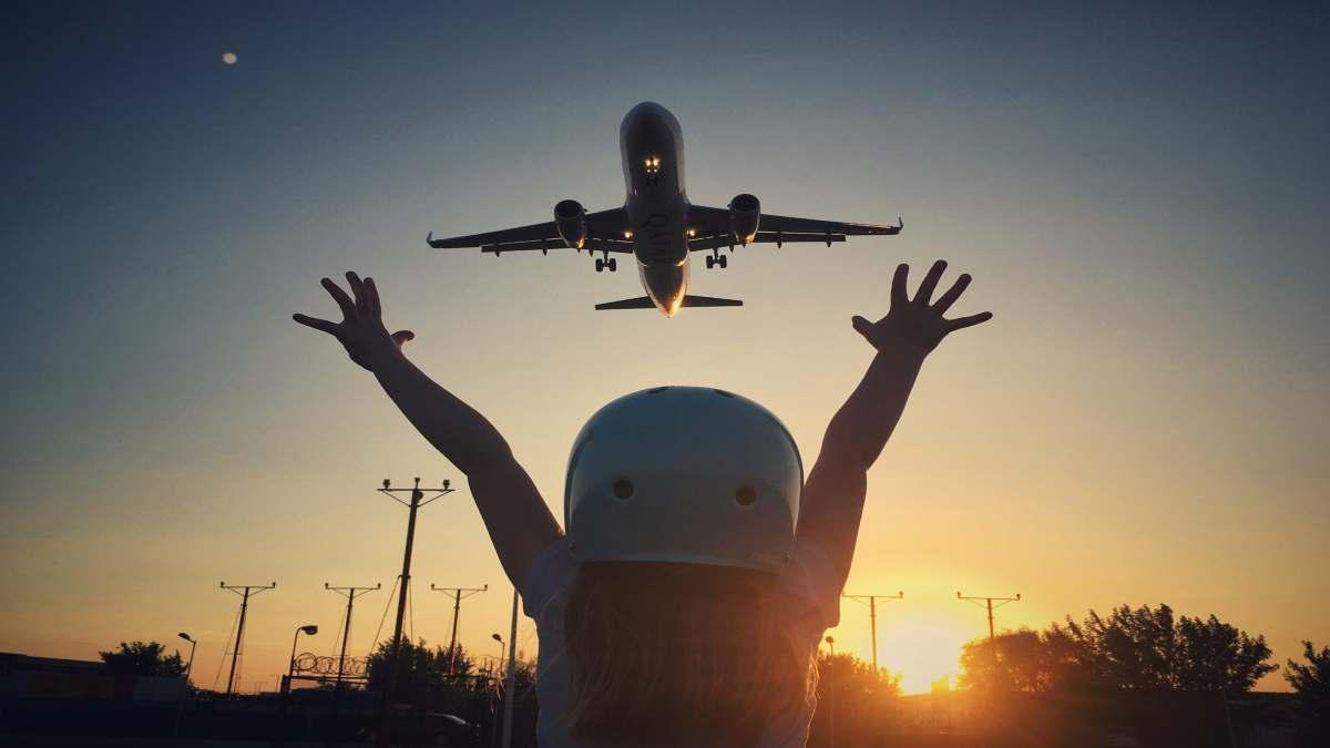 ταξίδι με αεροπλάνο στον κόσμο