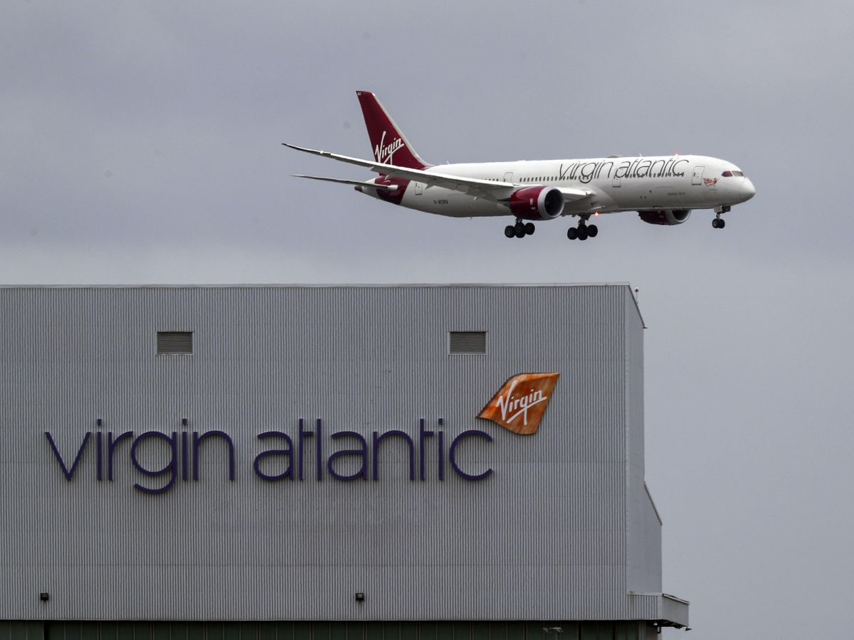 virgin atlantic μεταφορά εμβολίων κορονοϊού στον κόσμο