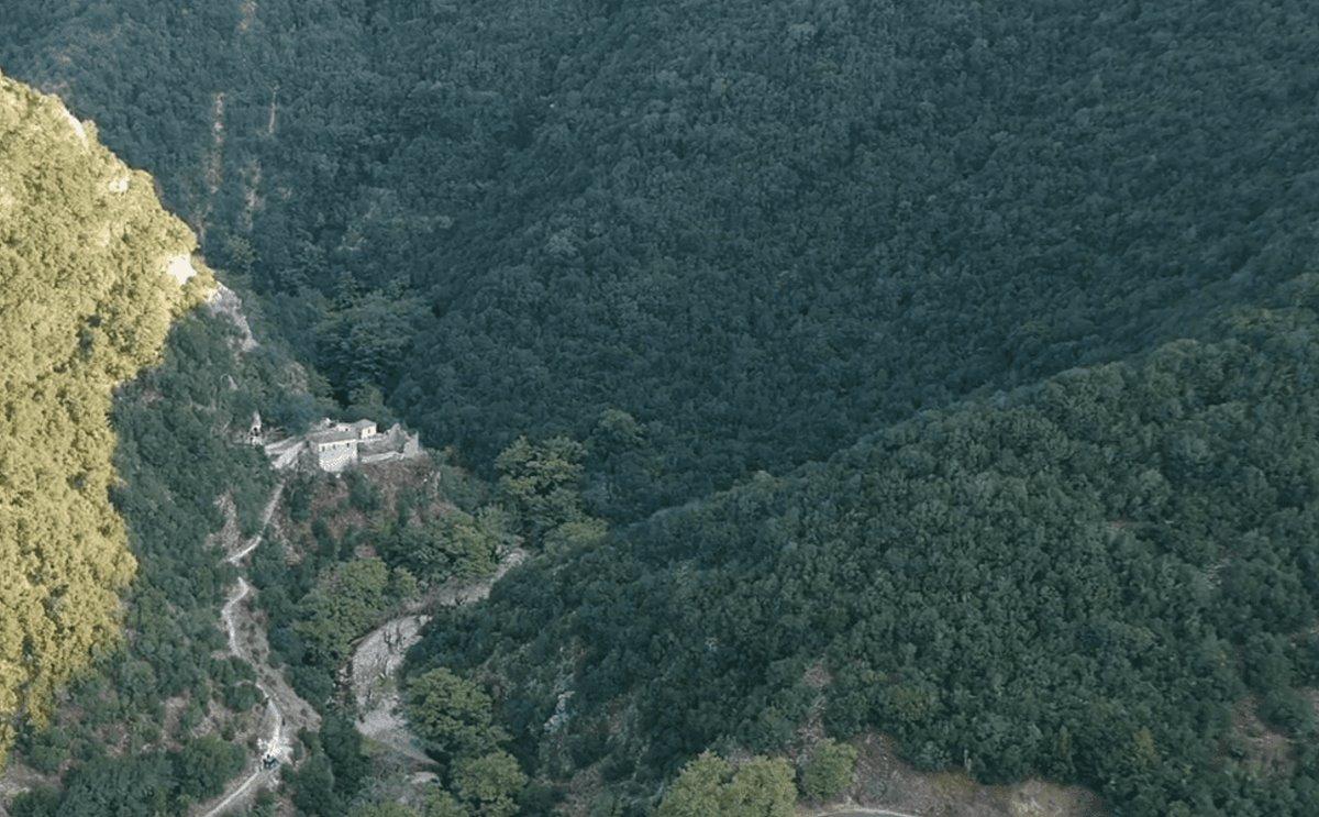 Βροσίνα Ιωαννίνων αλπικό σκηνικό μέσα στο δάσος