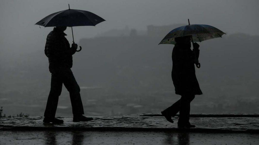 καιροσ 9-12 πρόγνωση ΕΜΥ βροχές