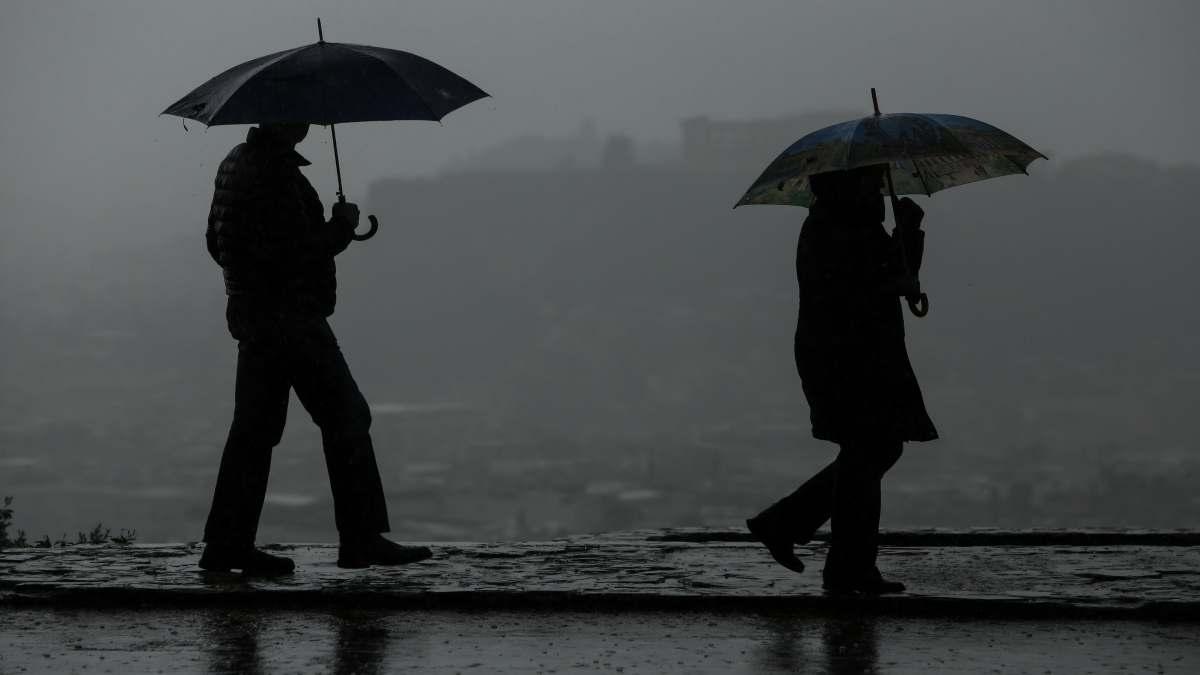 κακοκαιρία Ελλάδα βροχές και ισχυροί άνεμοι επιδείνωση καιρού