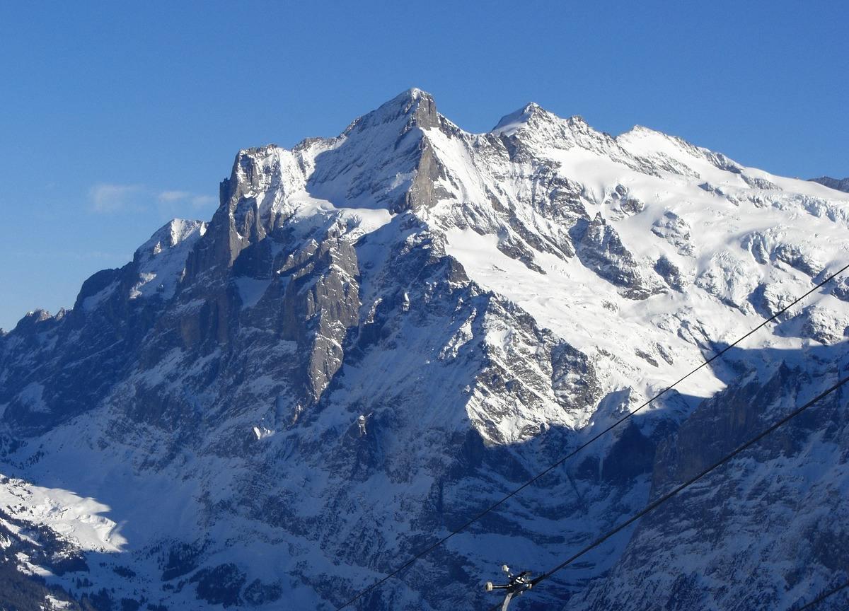 Wengen βουνά