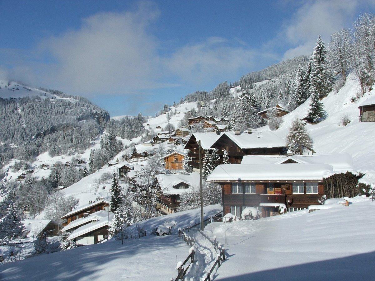 Wengen χωριό