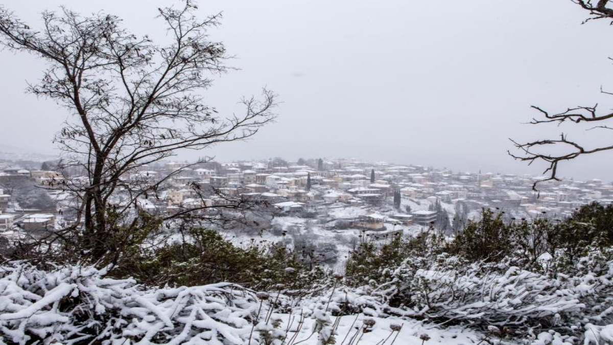καιρός κακοκαιρία χιόνια