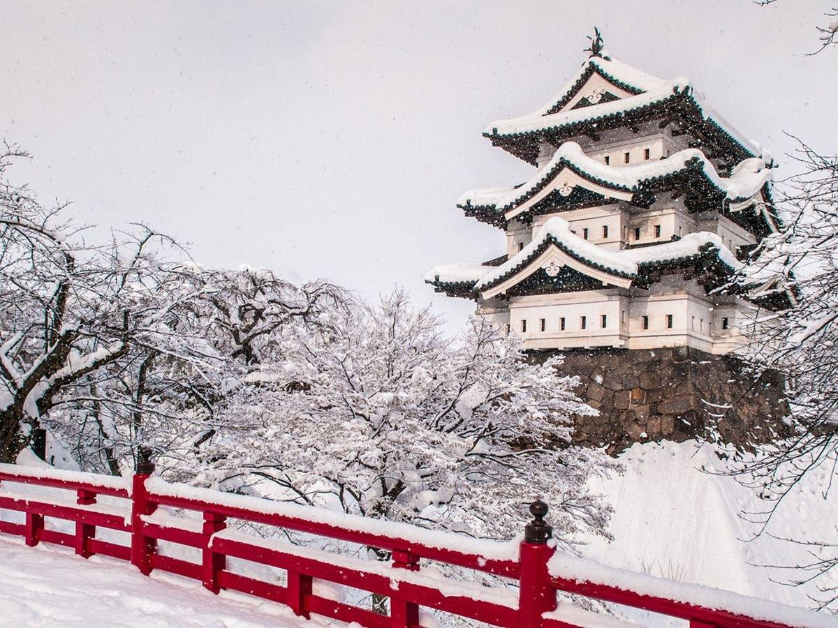 Χιονισμένες πόλεις στον κόσμο όπως το Aomori στην Ιαπωνία