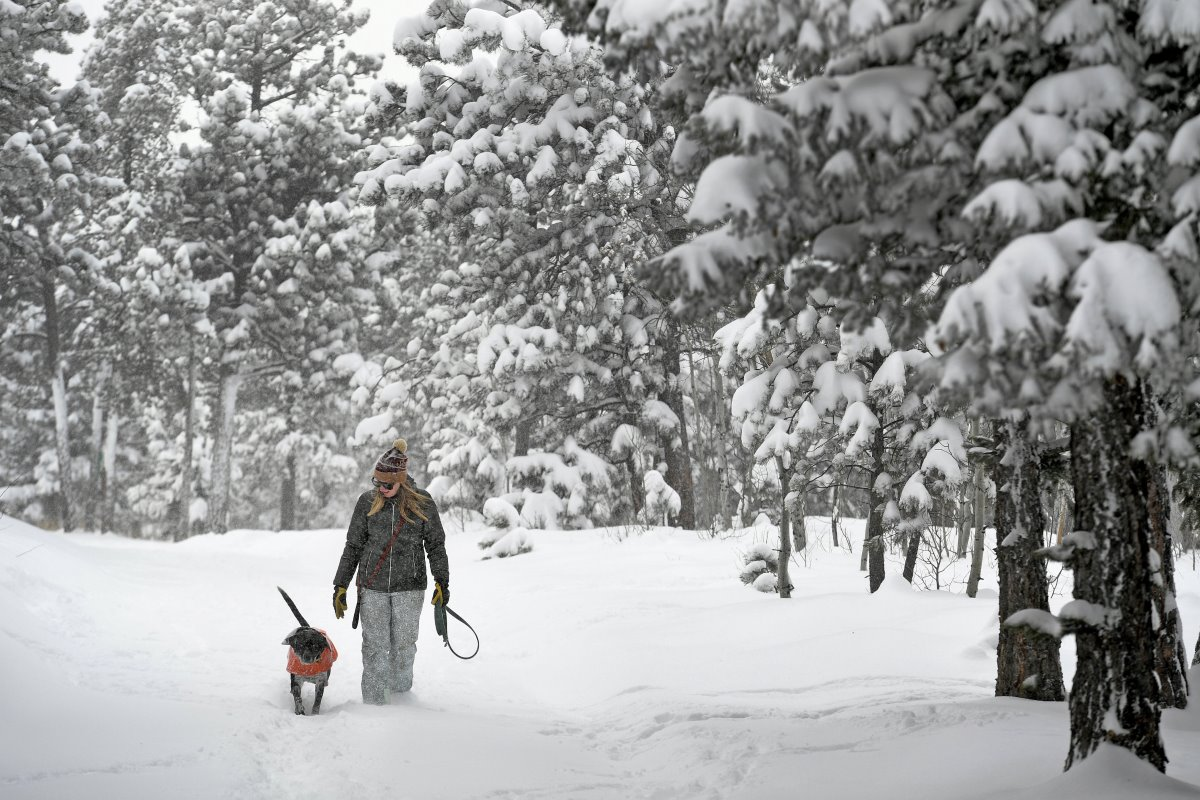 Το Ντένβερ μέσα στα χιόνια