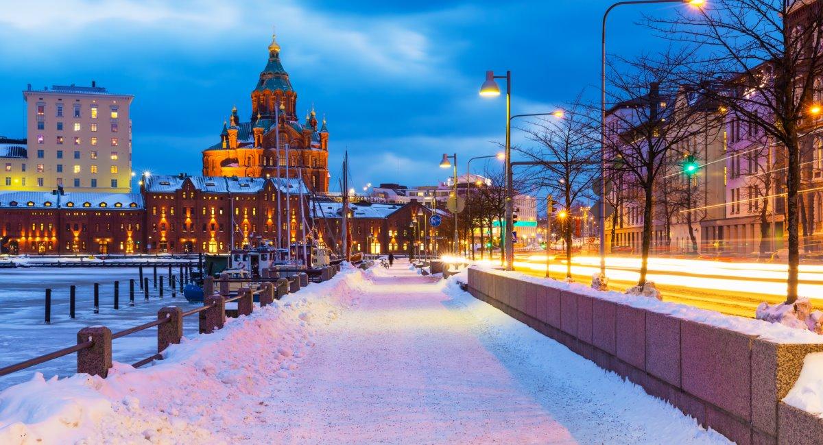 Χιονισμένες πόλεις στον κόσμο όπως το πανέμορφο Ελσίνκι