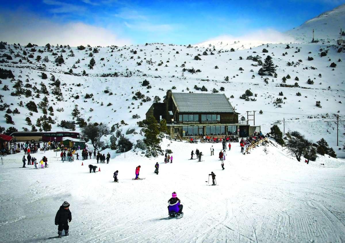 Χιονοδρομικό κέντρο Μαίναλου ή Οστρακίνας