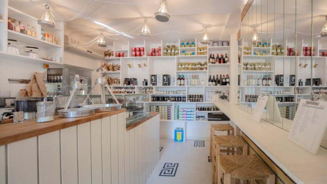 Yorgaki καφέ Παρίσι εξωτερικός χώρος