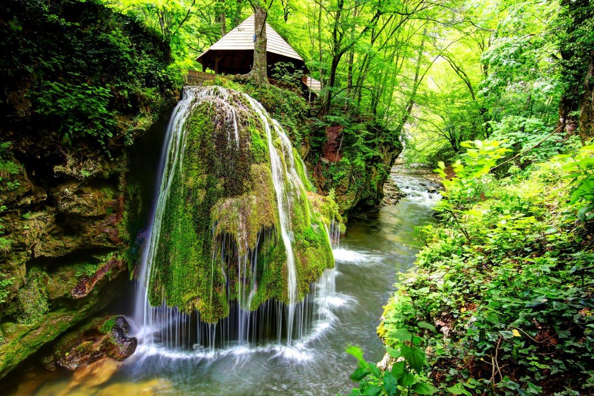 O Bigar καταρράκτης, Ρουμανία