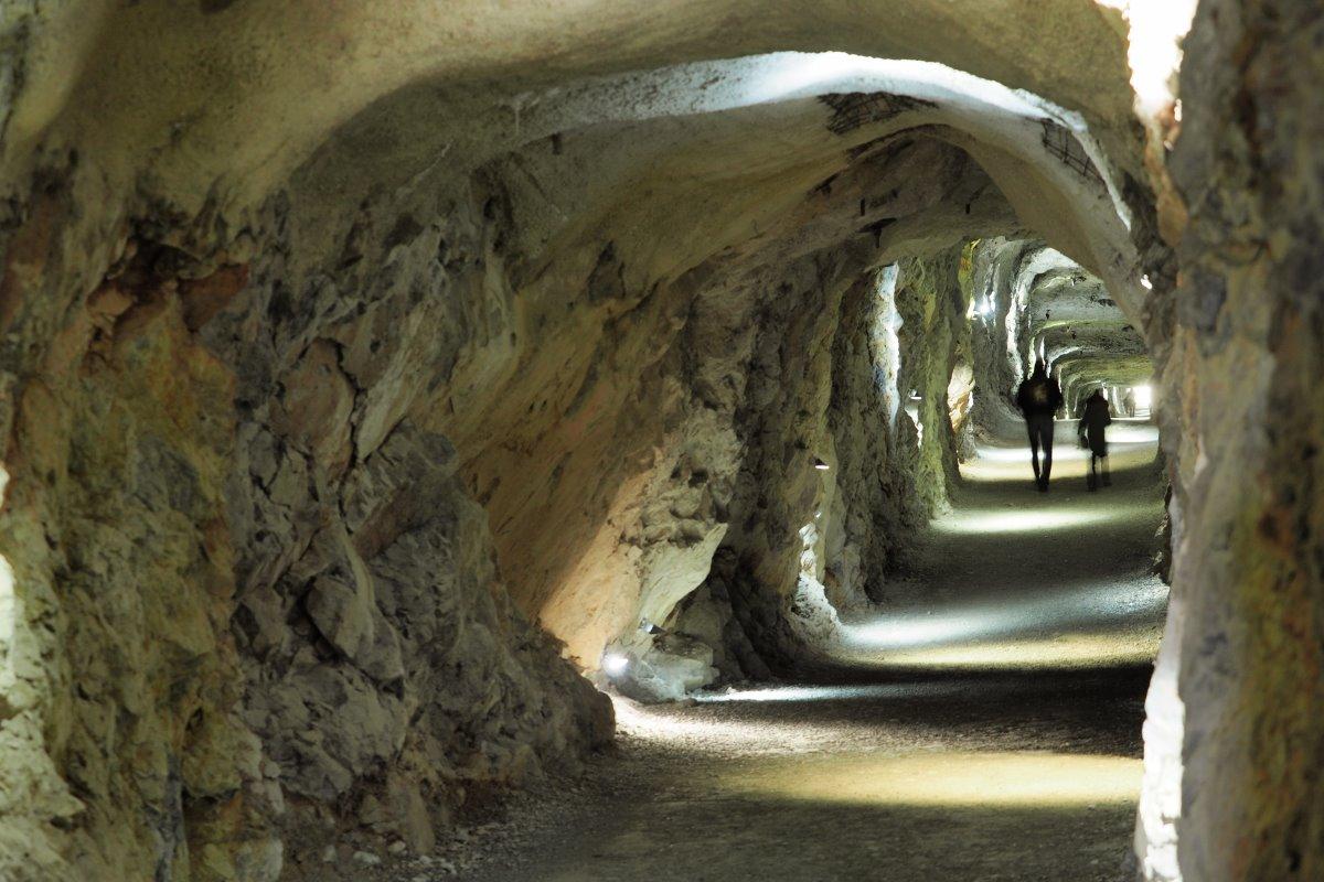 Σπήλαιο Eisriesenwelt, στο εσωτερικό, Αυστρία