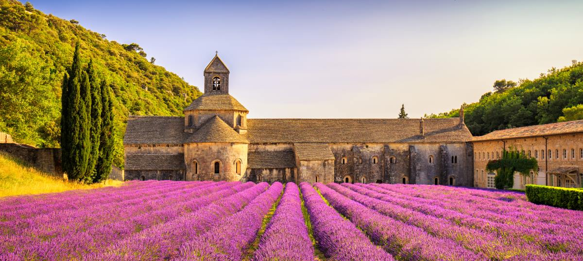 Gordes, Γαλλία, λεβάντες