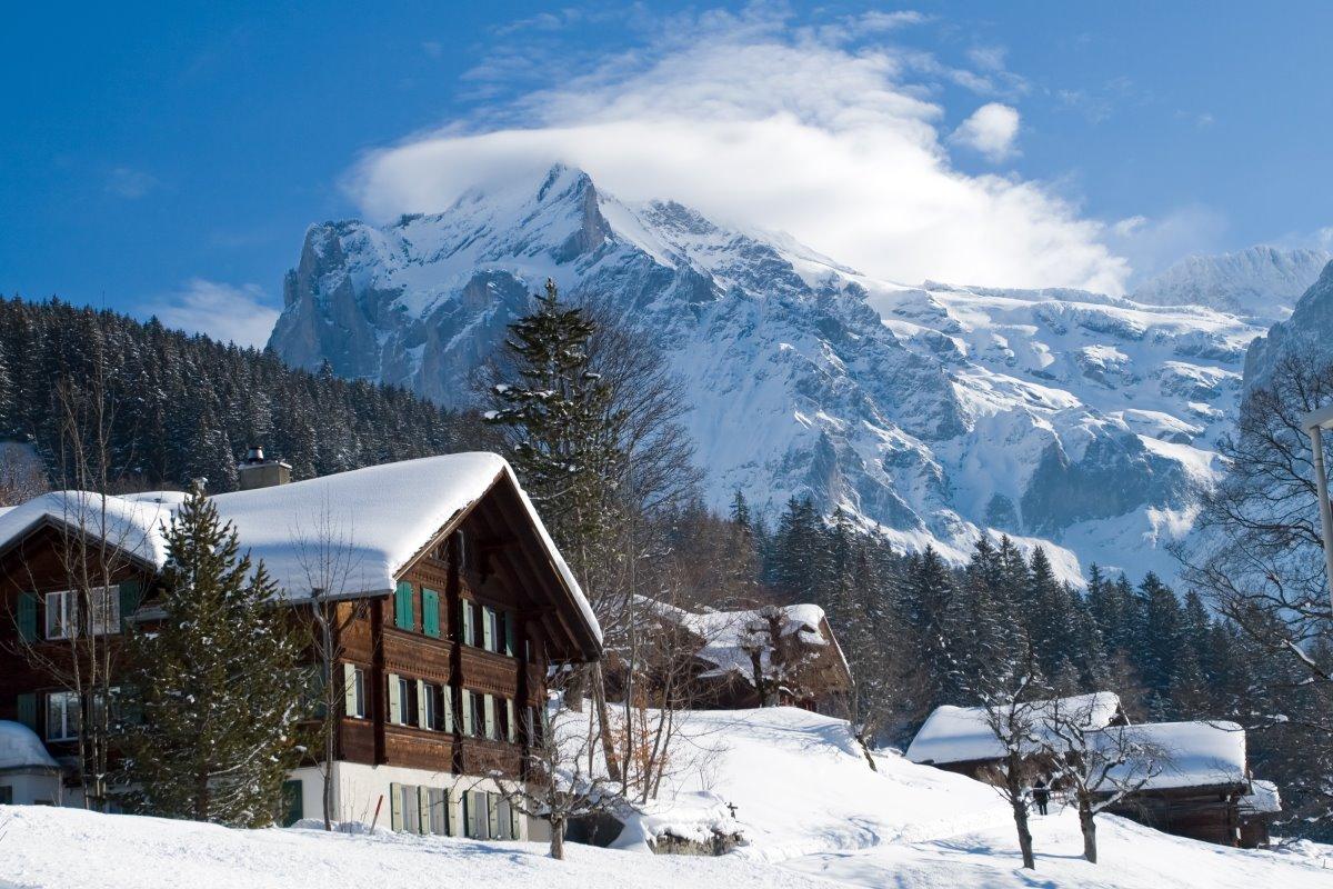Χριστούγεννα στο Γκρίντελβαλντ , Ελβετία