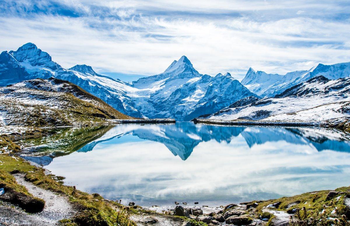 Γκρίντελβαλντ Ελβετικές Αλπεις, λίμνη