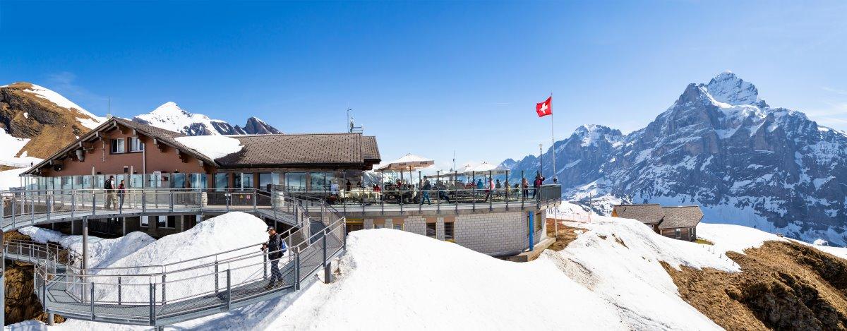 Χιονοδρομικό κέντρο, Γκρίντελβαλντ , Ελβετία