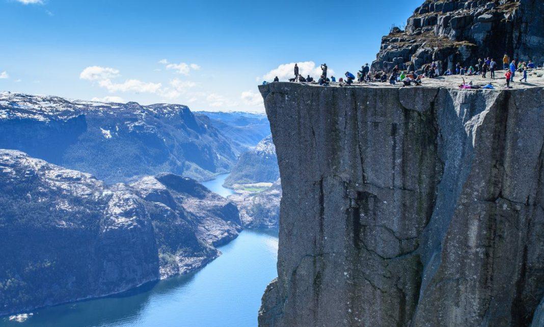Βράχος Preikestolen, Νορβηγία
