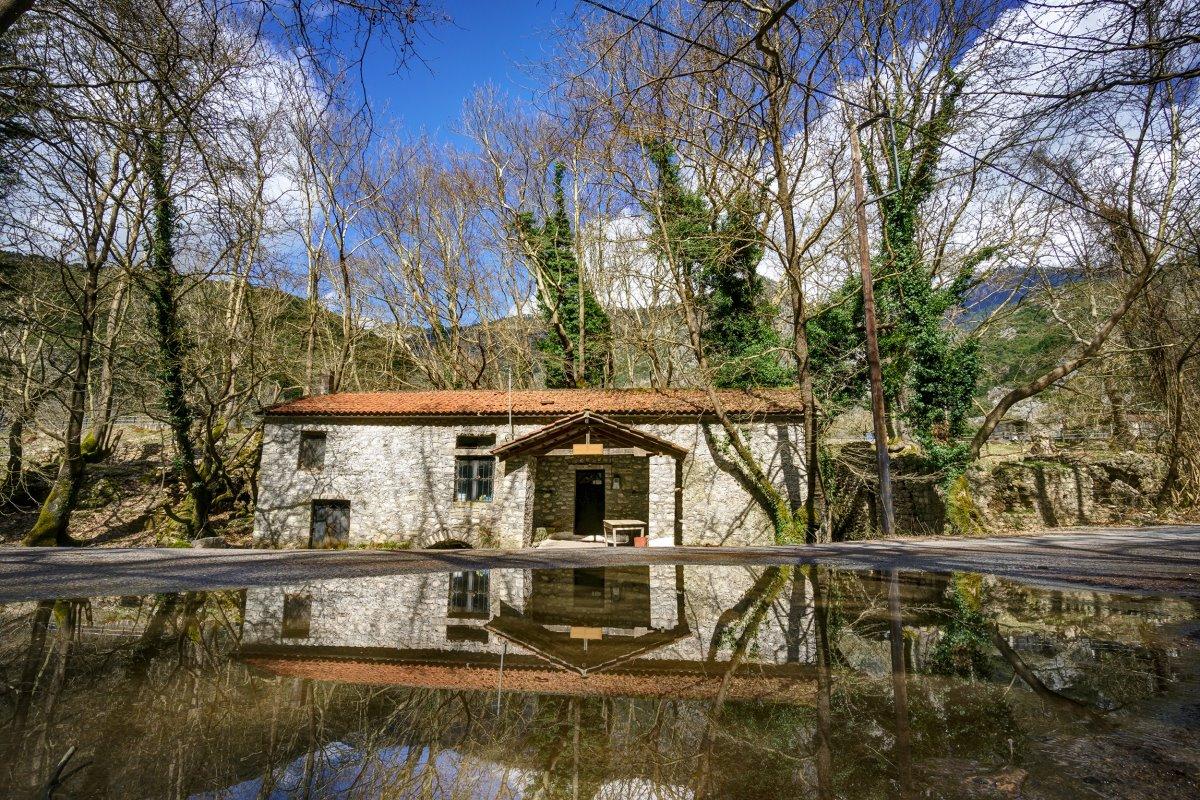 Παραδοσιακό σπίτι στο Πλανητέρο