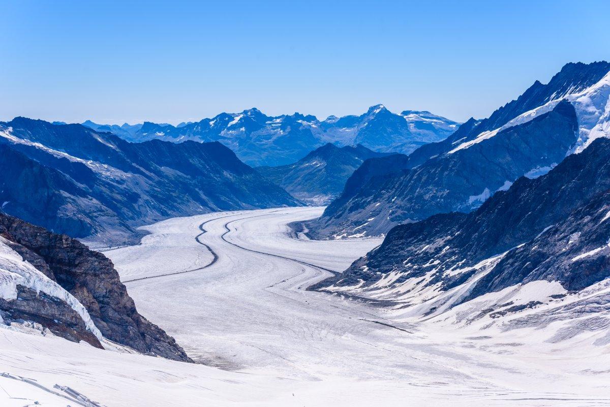 Παγετώνας Αletsch Glacier, Ελβετία
