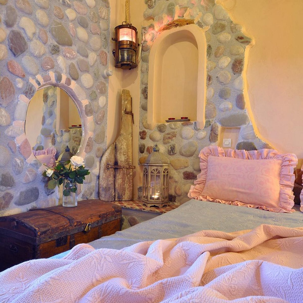 Archontiko Art Hotel Γαλαξίδι ρομαντικές λεπτομέρειες
