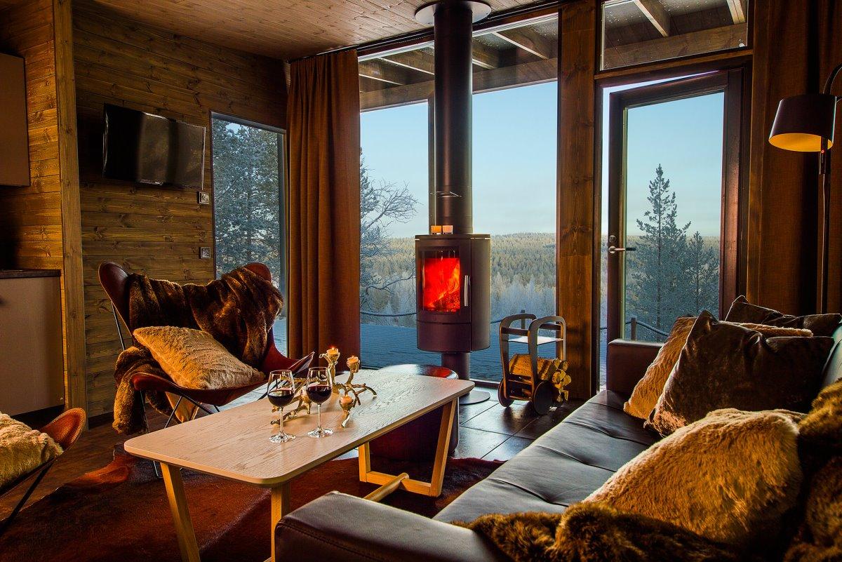 Arctic Tree House Hotel δωμάτιο