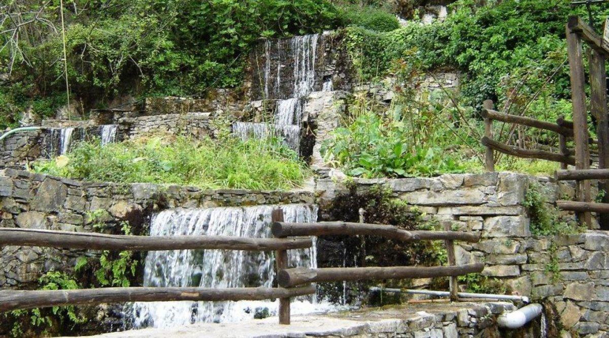 Αργυρούπολη χωριό Ρέθυμνο πράσινο και νερά