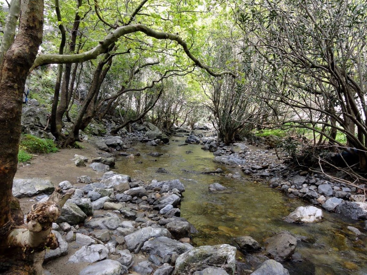 Αργυρούπολη χωριό Ρέθυμνο φύση πράσινο νερά