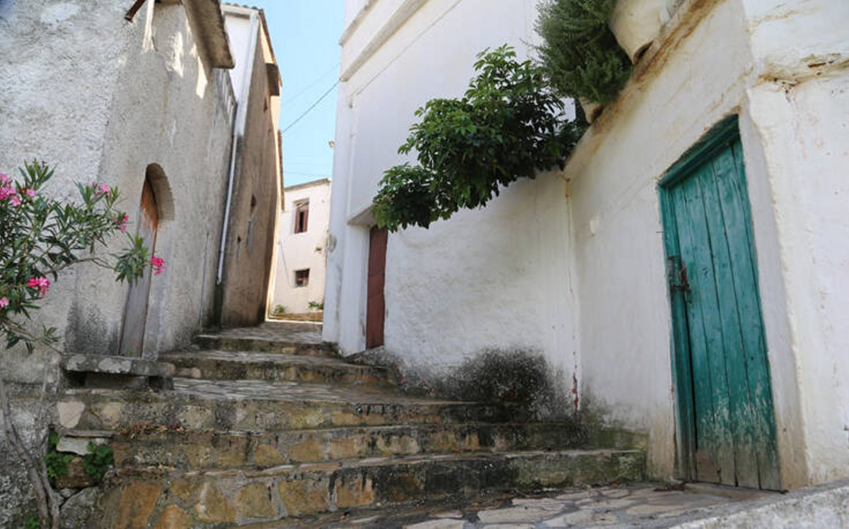 Αργυρούπολη χωριό Ρέθυμνο σοκάκια