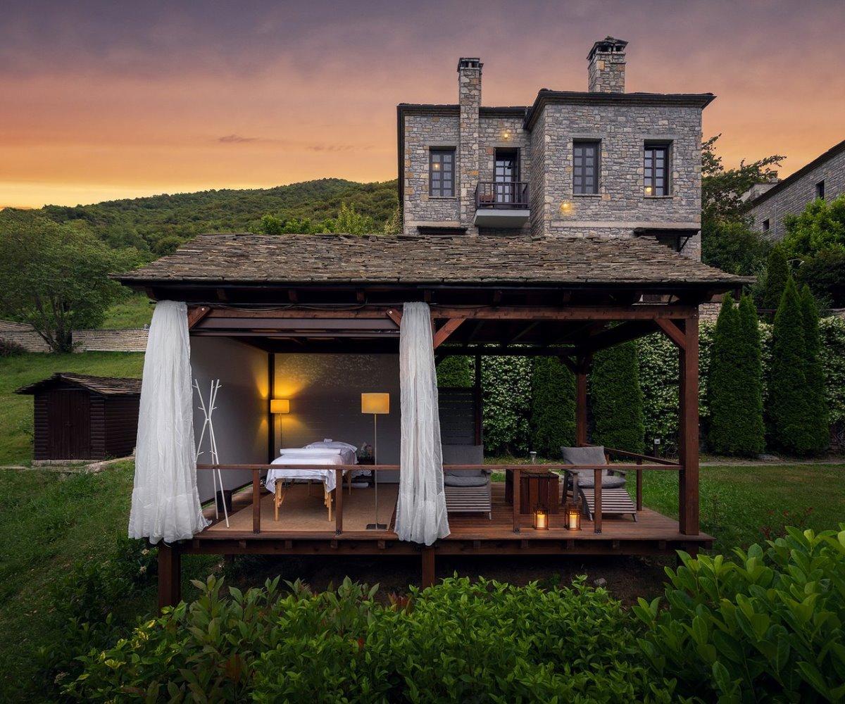 Aristi Mountain Resort με καταπληκτικό spa