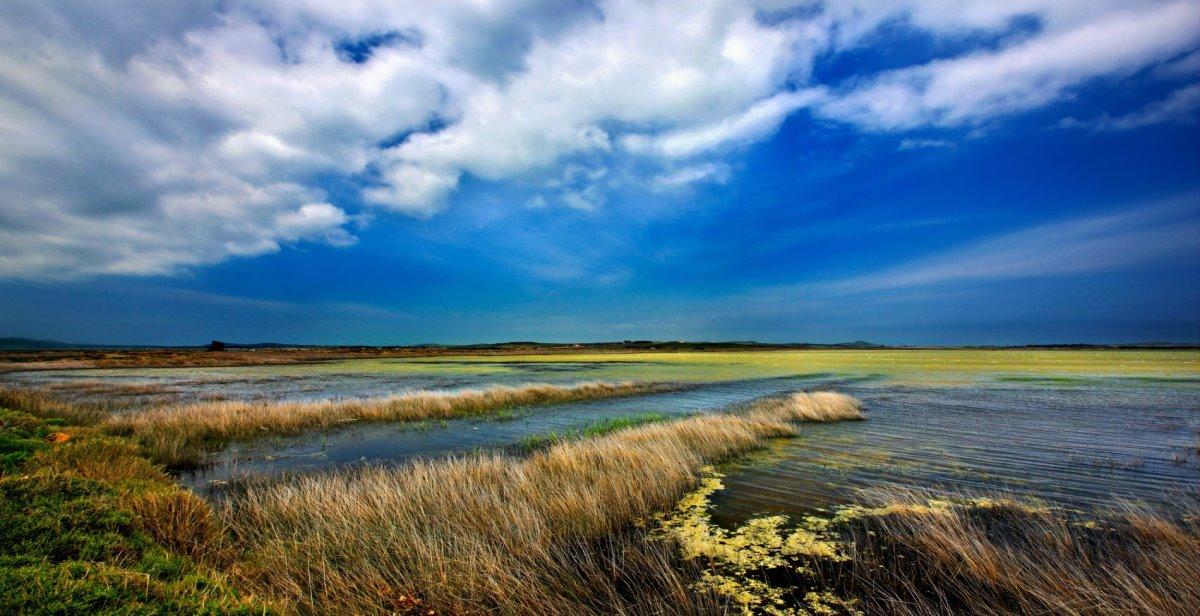 Ασπρολίμνη Λήμνου που εξαφανίζεται το καλοκαίρι