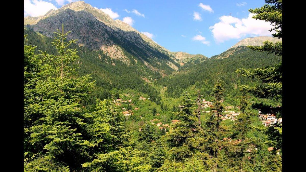 """Αθανάσιος Διάκος: Ταξιδεύουμε στον πιο γραφικό οικισμό της ορεινής Φωκίδας - """"Ελατοσκέπαστος"""" στην """"καρδιά"""" της Ρούμελης! (βίντεο)"""