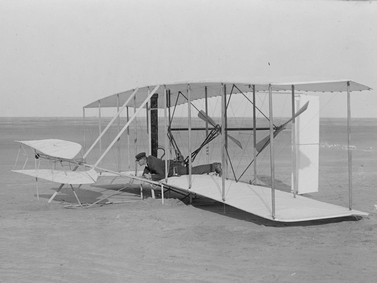 αεροπλάνο Ράιτ πρώτη πτήση