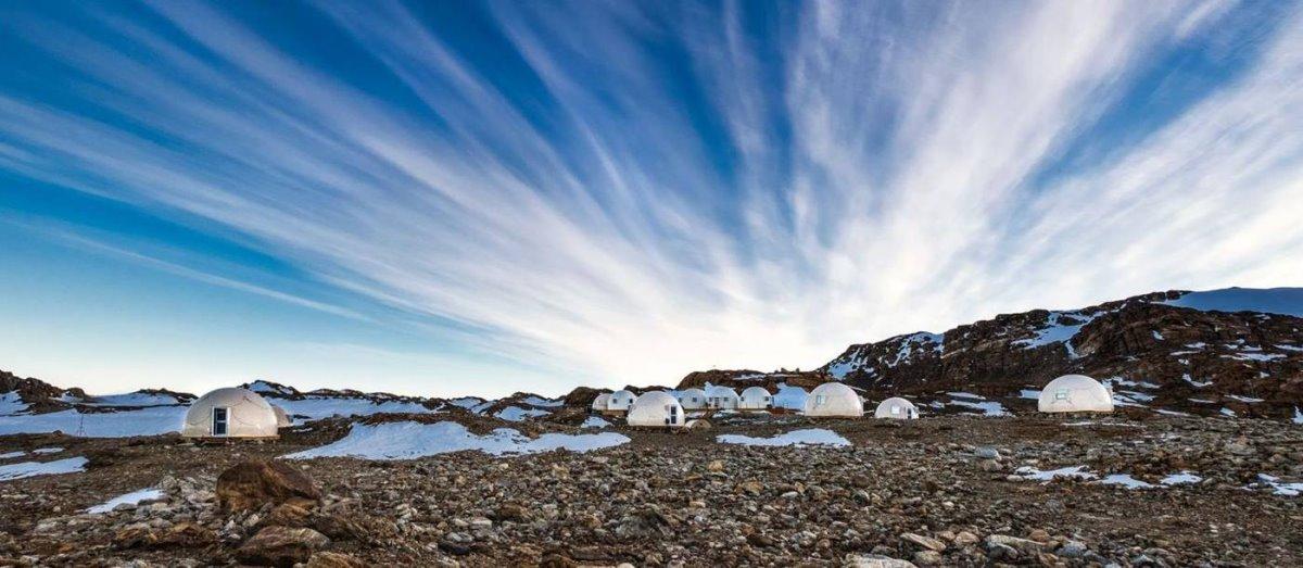 Wichaway Camp - White Desert, Ανταρκτική στα χιόνια