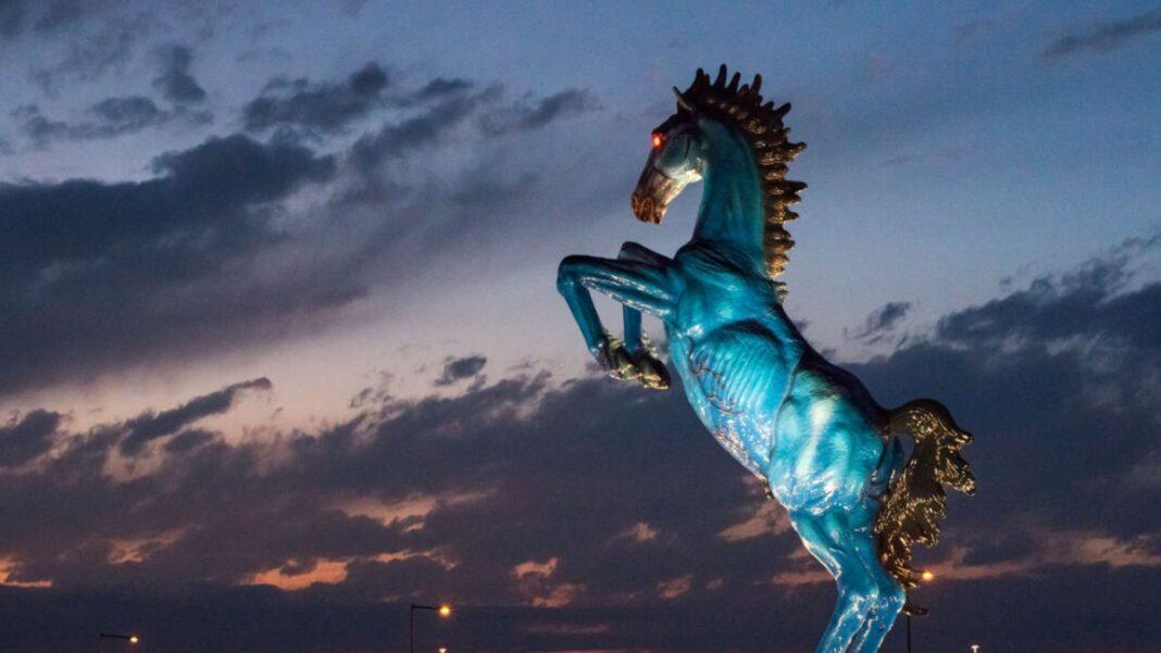Αεροδρόμιο Ντένβερ άγαλμα