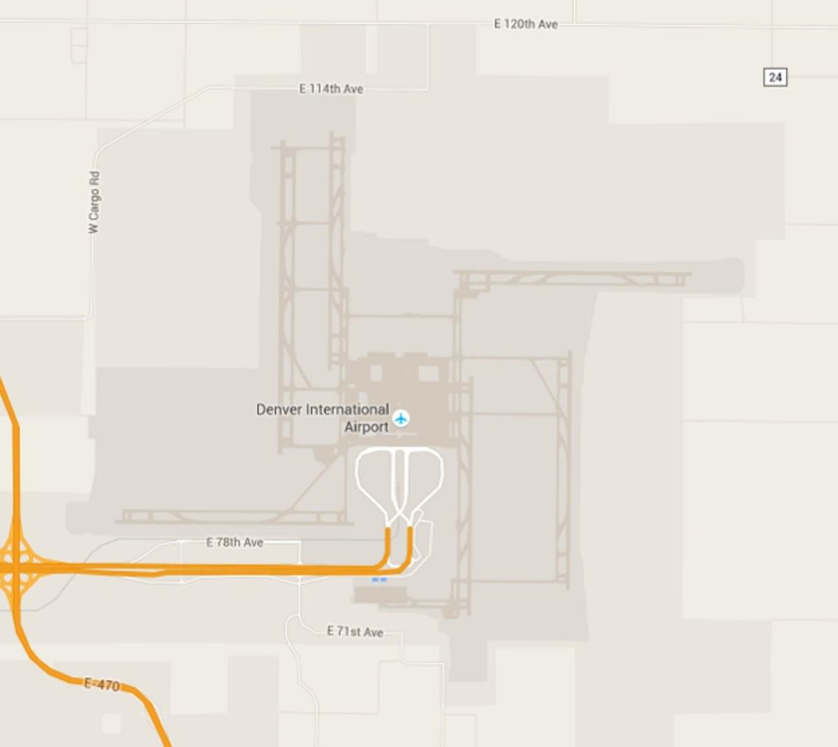 Αεροδρόμιο Ντένβερ διάδρομοι σβάστικα