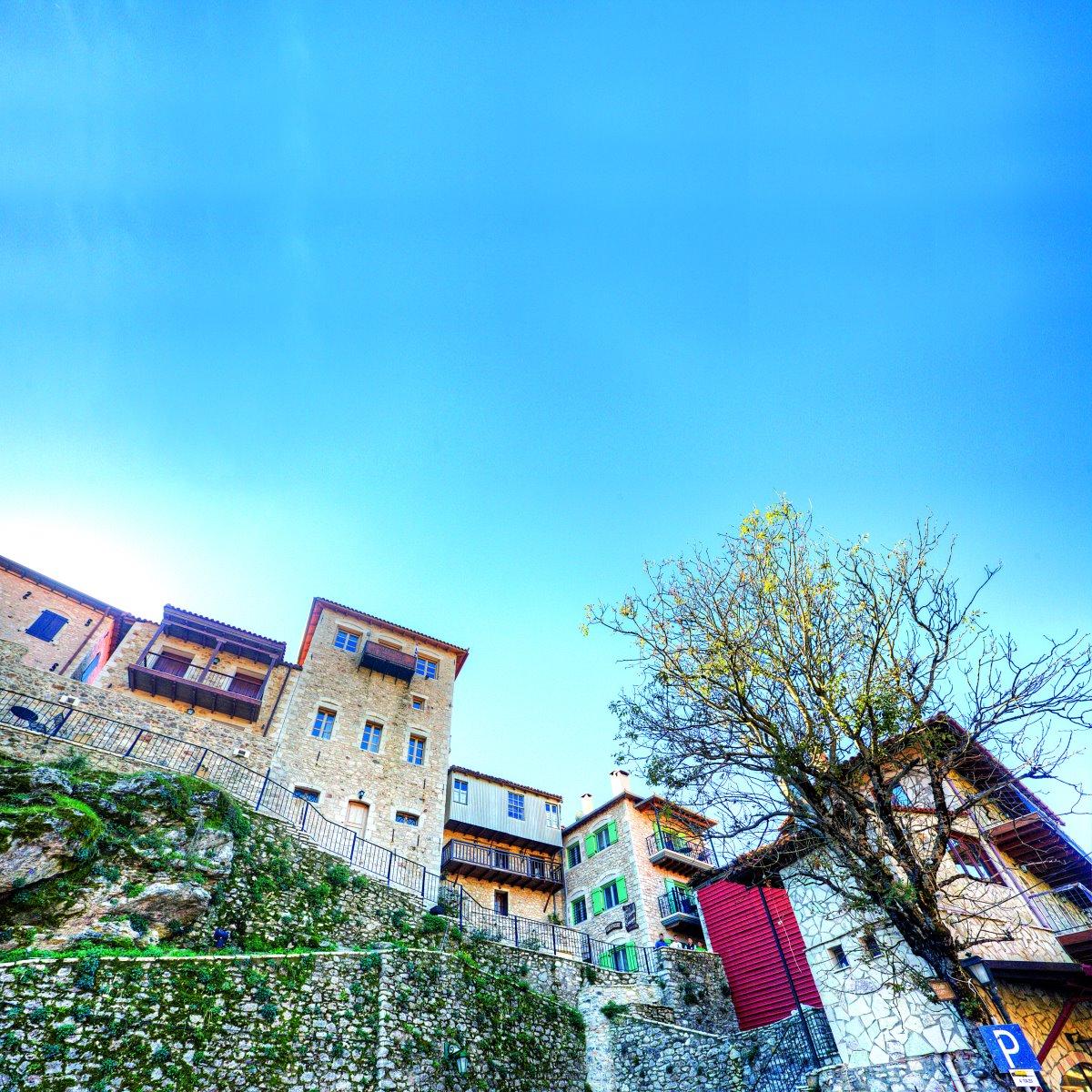 Δημητσάνα πέτρινα κτήρια