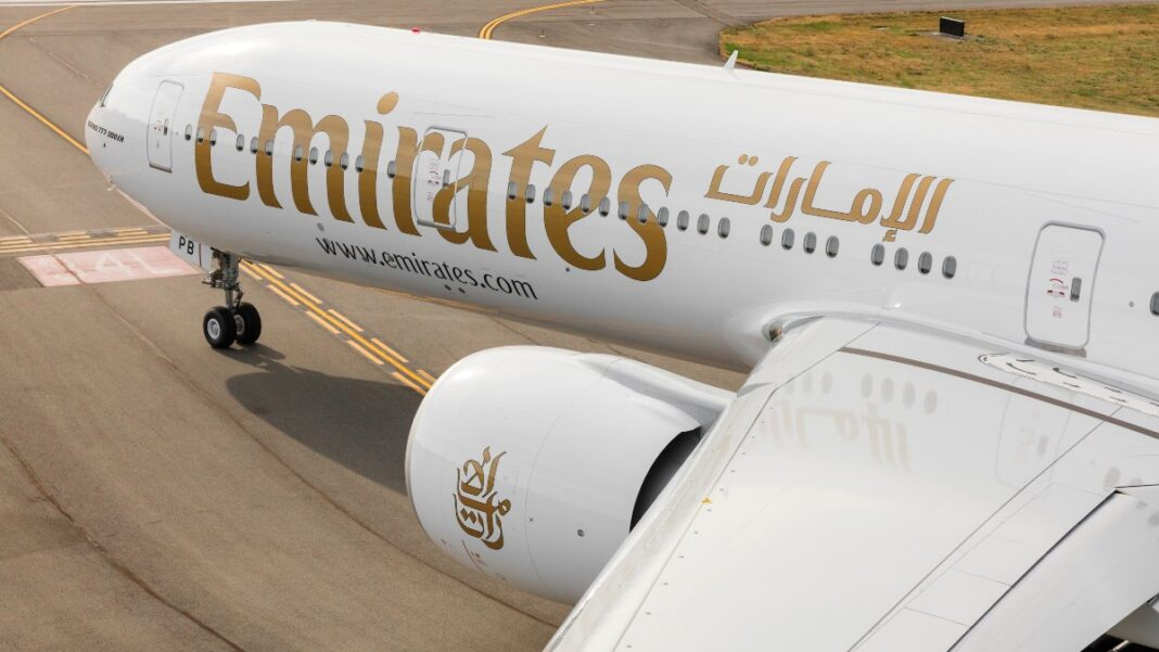 Boeing 777 emirates βράβευση