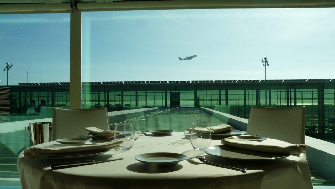 Εστιατόρια αεροδρομίων υψηλή μαγειρική
