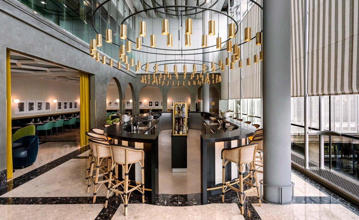 Εστιατόρια αεροδρομίων υψηλή μαγειρική και διάσημοι σεφ