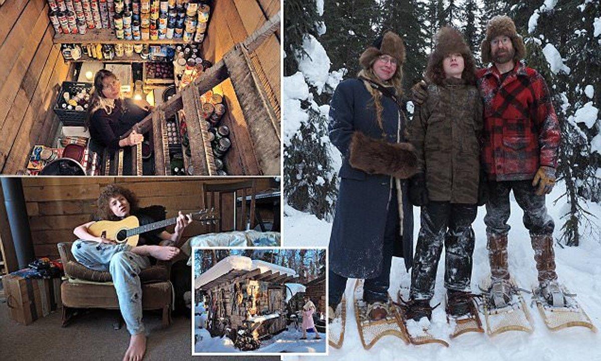 Οικογένεια στην Αλάσκα 18 χρόνια μέσα στα χιόνια