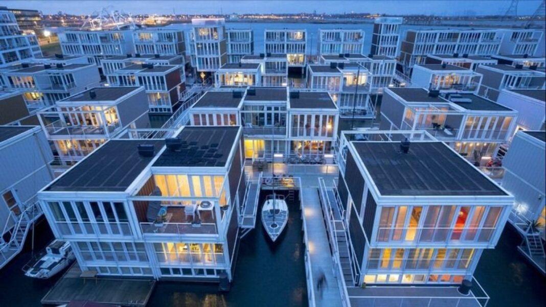 Πλωτή γειτονιά Άμστερνταμ