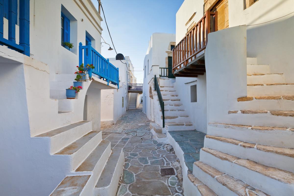 Χώρα Φολέγανδρου, Ελλάδα