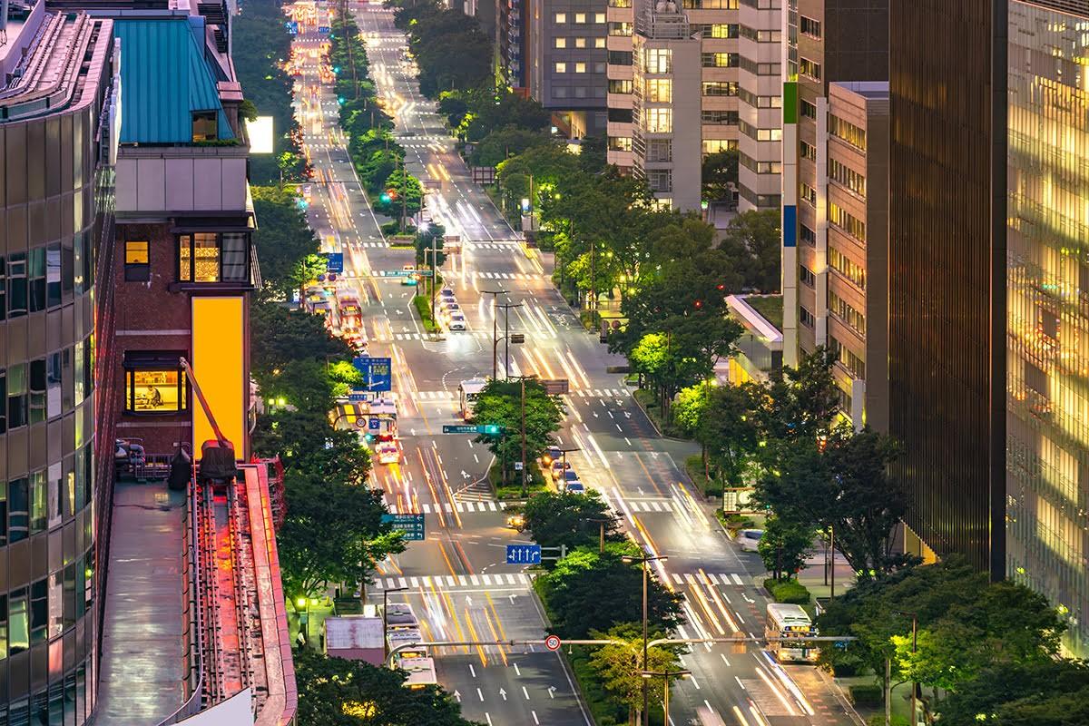 πόλη Φουκουόκα ιαπωνία όμορφη πόλη